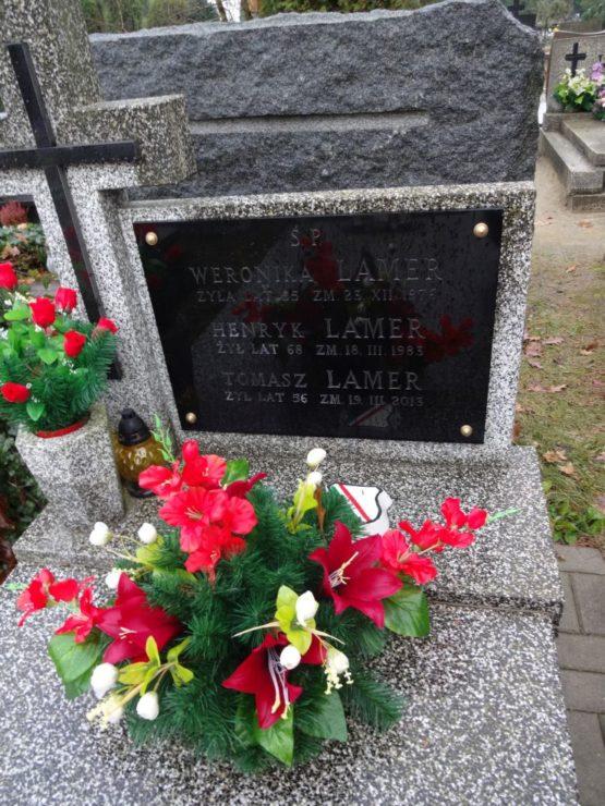 Henryk Lamer - zarówno przedwojenny jak i powojenny piłkarz Legii oraz zawodnik sekcji hokejowej