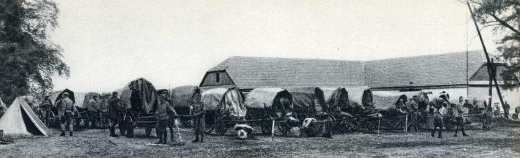 Tren sztabowy Komendy Legionów w Czermosznie