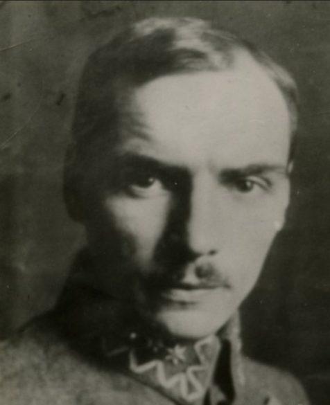 Współautor pamiętnika, Tadeusz Tyrowicz, piłkarz Legii z czasów Legionów Polskich