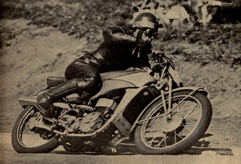 DeKaWka na wirażu podczas zawodów o Grand Prix Polski 1938